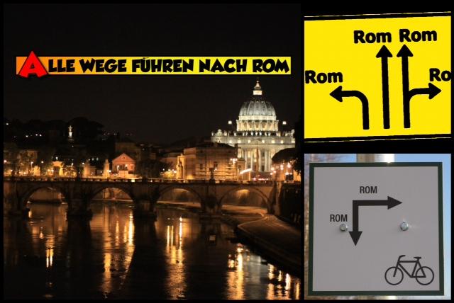 Immer gehts nach Rom