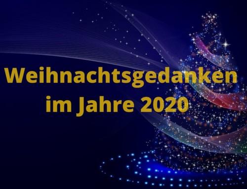 Weihnachtsbrief/Rückblick 2020