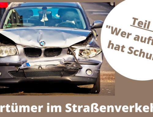 Irrtümer im Straßenverkehr (1)