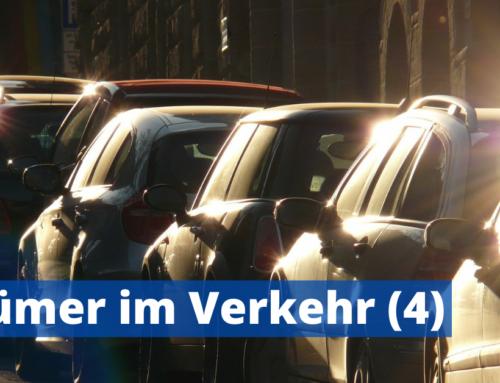 Irrtümer im Straßenverkehr (4)